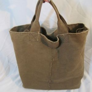 GAP Canvas Tote Bag Purse Carryall Beach Pockets
